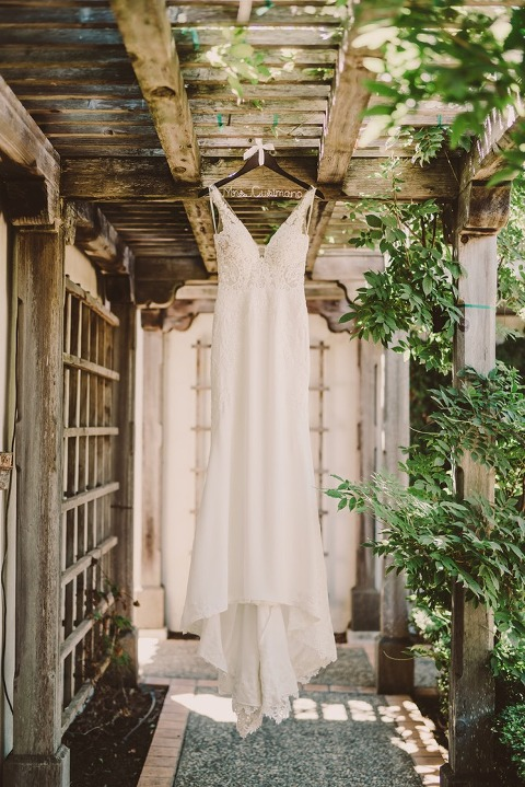 Wedding Gown at Casita Estate Wedding designed by Sandcastle Celebrations Wedding Planners
