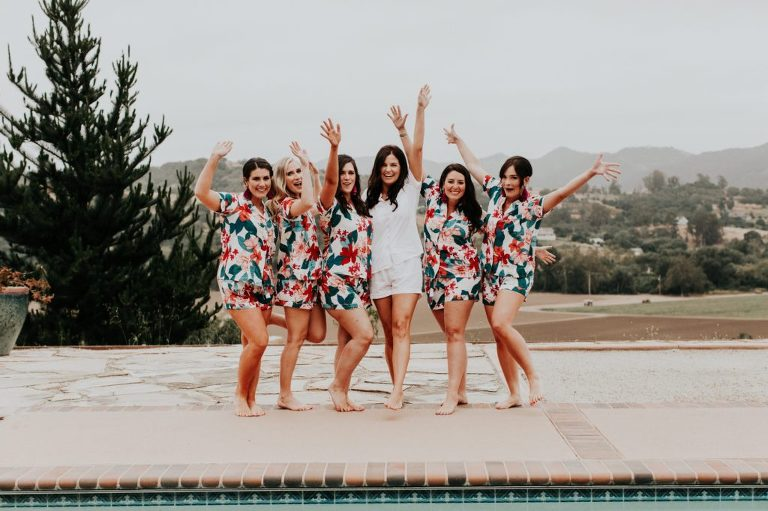 Bridal Photo Casitas Pool